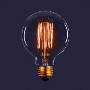 Декоративная лампа накаливания Estares Vintage ES-G80 40W 230V