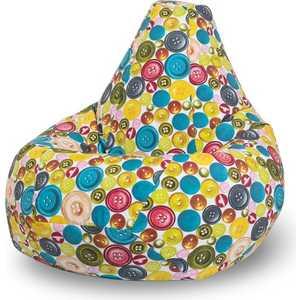 Кресло-мешок Пуфофф Buttons XL