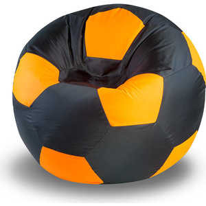 Кресло-мяч Пуфофф Black-Orange thick pvc buoyancy ball swimming aid for children orange black
