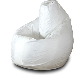 Кресло-мешок Груша Пазитифчик Бмо1 белый