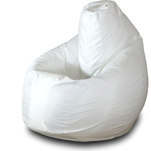 Кресло-мешок Груша Пазитифчик БМО2 белый