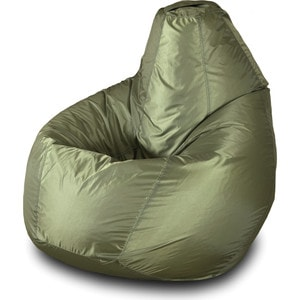 Кресло-мешок Груша Пазитифчик Бмо2 хаки мягкие кресла пазитифчик мешок груша оксфорд 130х85