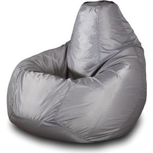 Кресло-мешок Груша Пазитифчик Бмо4 серый мягкие кресла пазитифчик мешок груша оксфорд 130х85