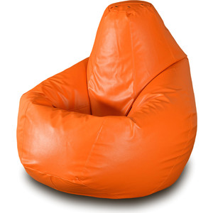 Кресло-мешок Груша Пазитифчик Бмэ1 оранжевый мягкие кресла пазитифчик мешок груша оксфорд 130х85