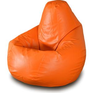 Кресло-мешок Груша Пазитифчик БМЭ3 оранжевый