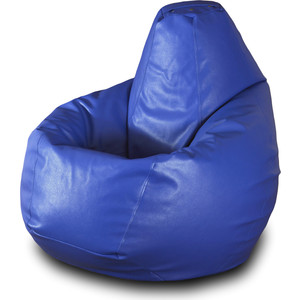 Кресло-мешок Груша Пазитифчик БМЭ3 синий