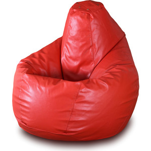 Кресло-мешок Груша Пазитифчик БМЭ4 красный