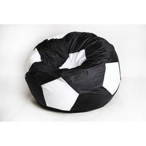 Кресло-мешок Мяч Пазитифчик Бмо6 черно-белый мягкие кресла пазитифчик мешок мяч экокожа 90х90