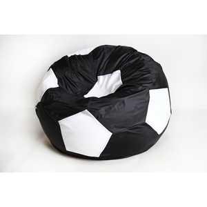 Кресло-мешок Мяч Пазитифчик БМО8 черно-белый