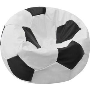Кресло-мешок Мяч Пазитифчик Бмэ7 бело-черный мягкие кресла пазитифчик мешок мяч экокожа 90х90