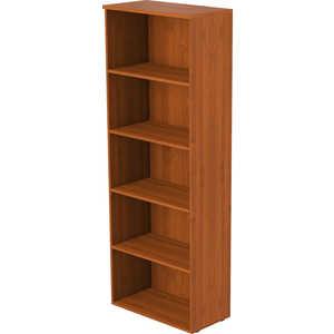 Стеллаж высокий широкий Славянская мебель Алекс 22.44.8 орех