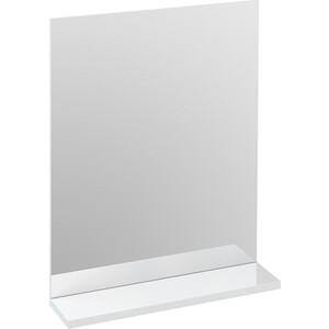 Фотография товара зеркало Cersanit Melar/Arteca 50х64.8х12 см с полочкой без подсветки белый (P-LU-MEL) (426554)