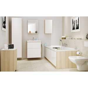 Комплект мебели Cersanit Smart 50 белый раковина Como cersanit como 80 белый