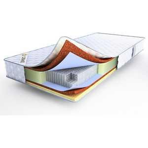 Матрас Lonax Cocos-Medium S1000 200x200 матрас dreamline kombi 2 s1000 150х195 см
