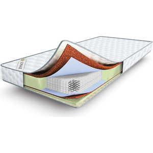 Матрас Lonax Cocos-Medium Econom S1000 80x190 матрас lonax memory medium s1000 80x190