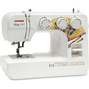 Швейная машина Janome Lady 745 швейная машинка janome sew mini deluxe