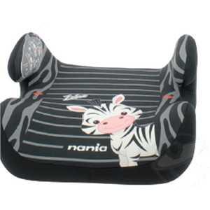 Бустер Nania Topo Comfort Animals Zebre черно-серые полоски 549875 недорого