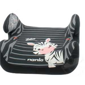 Бустер Nania Topo Comfort Animals Zebre черно-серые полоски 549875