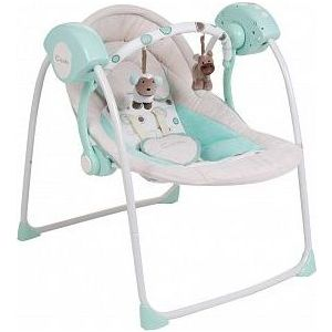Качели, кресла-качалки и шезлонги Capella TY-002B зеленый шезлонги качели манежи happy baby