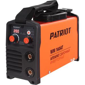 Сварочный инвертор PATRIOT WM 160AT сварочный инвертор patriot 230 pfc