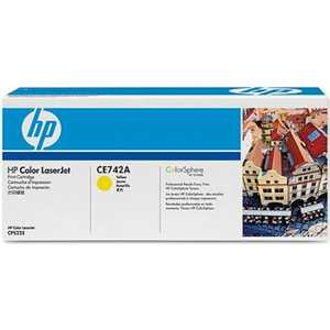 Картридж HP CE742A hp ce742a 307a yellow тонер картридж для color laserjet cp5225
