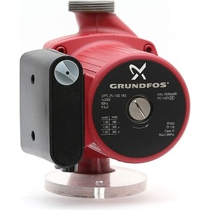 Циркуляционный насос Grundfos UPS 25-100 насос grundfos ups 25 100 180