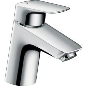 Смеситель для раковины Hansgrohe Logis 70 см с донным клапаном (71070000) держатель туалетной бумаги hansgrohe logis 40526000