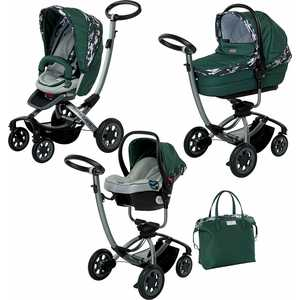 Коляска модульная 3 в 1 Foppapedretti Myo Travel System GreenForest (KFMTS-00259700365503)