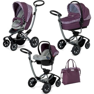 Коляска 3 в 1 Foppapedretti Myo Travel System VioletGungle (KFMTS-00259700365504)