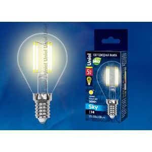 ����������� ������������ ����� Uniel LED-G45-5W/WW/E14/CL PLS02WH