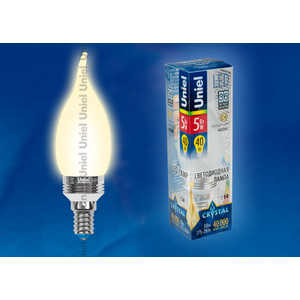 Светодиодная лампа Uniel LED-CW37P-5W/WW/E14/FR ALC02SL 5w 940nm infrared ir led emitter silver