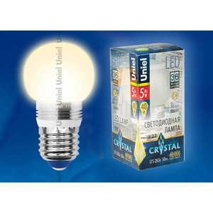 Светодиодная лампа Uniel LED-G45P-5W/WW/E27/FR ALC02SL 5w 940nm infrared ir led emitter silver