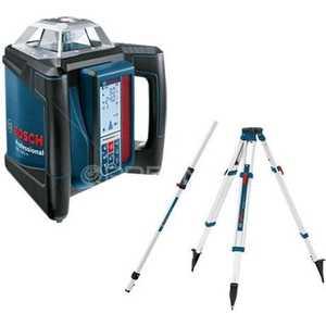 Нивелир лазерный ротационный Bosch GRL 500 HV + LR 50 (0.601.061.B00) штатив bosch bt 150 0 601 096 b00