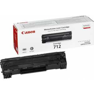 Картридж Canon C-712 (1870B002) canon 712 1870b002 black картридж для принтеров lbp 3010 3020