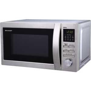 Микроволновая печь Sharp R-6496ST микроволновая печь sharp r 2000rw 800 вт белый черный