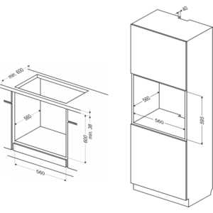 Электрический духовой шкаф Hansa BOEI 62030030 от ТЕХПОРТ