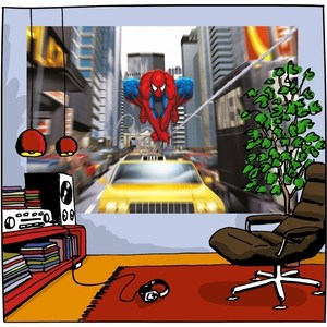 Фотообои MARVEL Spider-Man Rush Hour 184 х 127см. фотообои marvel spider man ultimate 1 84х1 27 м