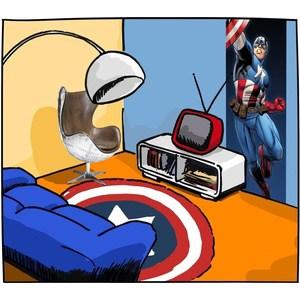 Фотообои MARVEL Avengers (1-431)
