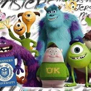 Фотообои Disney Edition 1 Monsters (1-470)