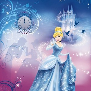 Фотообои Disney Edition 1 Cinderella's Night 184 х 254см.