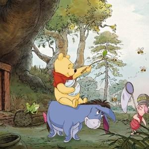 Фотообои Disney Edition 1 Winnie the Pooh 4-панельные (4-413)