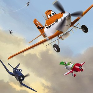 Фотообои Disney Edition 1 Planes Dusty and Friends 184 х 254см.