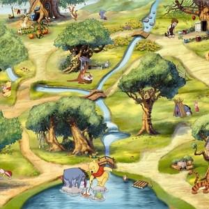Фотообои Disney Edition 1 Hundertmorgenwald 254 х 184см.