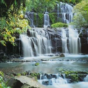 Фотообои Komar Pura Kaunui Falls 368 х 254см. (8-256) фотообои komar brooklyn b w 368 х 254см 8 934