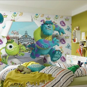 Фотообои Disney Edition 1 Monsters University Wallbreaker 368 х 254см. romping monsters stomping monsters