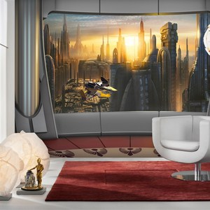 Фотообои Komar STAR WARS Coruscant View 368 х 254см. (8-483) lno 049 267pcs star wars mini diamond building blocks