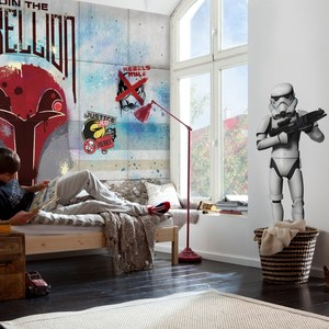 Фотообои Komar STAR WARS Rebels Wall 368 х 254см. (8-485) hammerfall rebels with a cause unruly unrestrained uninhibited dvd cd