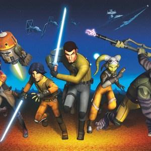 Фотообои Komar STAR WARS Rebels Run 368 х 254см. (8-486) фотообои star wars star wars ep7 collage 3 68х2 54 м