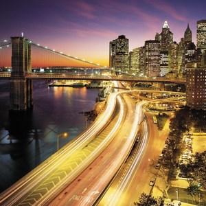 Фотообои Komar NYC Lights 368 х 254см. (8-516) фотообои komar brooklyn bridge 368 х 127см 4 320