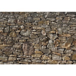 Фотообои Komar Stone Wall 368 х 254см. (8-727) 3d mural wallpaper living room decoration papel de parede современный городской ночной вид большой пользовательский фотообои wall wall bedroom bedroomv